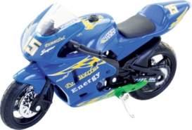 Speedzone - D C Motorräder 1:18, 8-fach sortiert, ca. 11,20x4x6,40 cm, ab 3 Jahren (nicht frei wählbar)