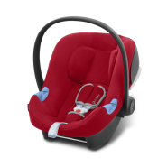 Cybex Silver 'Aton B i-Size' Babyschale 2020 Dynamic Red