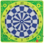 SMARTNESS ONLINE CONNECT DARTBOARD SQUARE-501, GELB