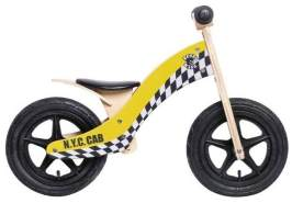 Rebel Kidz - Laufrad Wood Air Taxi - gelb