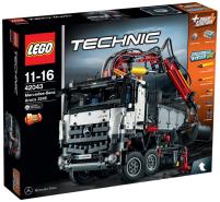LEGO Technic 42043 - Mercedes-Benz Arocs 3245, Auto-Spielzeug