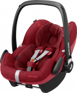 Maxi-Cosi 'Pebble Pro i-Size' Babyschale 2020 Essential Red von 45-75 cm (Gruppe 0+)