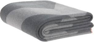 Lässig Yoga Knitted Blanket GOTS grau 130 x 170 cm