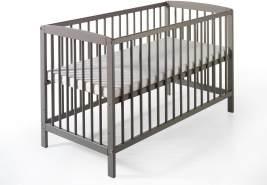 Schardt 'Felix' Kinderbett grau lackiert