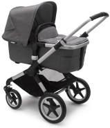 Bugaboo 'Fox2' Kombikinderwagen 3 in 1 incl. Babyschale Alu / Grau Meliert Soho Grey
