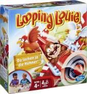Hasbro 'Looping Louie', Geschicklichkeitsspiel, Kinderspielklassiker ab 4 Jahren, 2-4 Spieler, mit 2 Geschicklichkeitsstufen