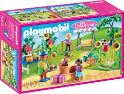 Playmobil Dollhouse 70212 'Kindergeburtstag mit Clown', 103 Teile, ab 4 Jahren