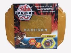 Bakugan 20115349 - Storage Case - Orange, Aufbewahrungskoffer mit Thryno Bakugan