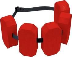 Beco - Schwimmgürtel - 5 Pads - (Zulässig zwischen 15 und 30 kg)