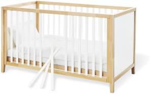 Pinolino 'Calimero' Kombi-Kinderbett weiß / natur