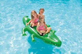 Intex - Reittier Alligator mit Haltegriffen