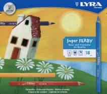 LYRA Super Ferby Kartonetui mit 18 Farbstiften Sortiert