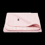 bébé-jou Fabulous Babydecke Samo 90x140 cm Blush Pink