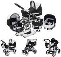 Kinderwagen Matrix 2 + Autositz Schwarz & Karo ohne Isofix-Ausstattung ohne Winterfußsack ohne Sonnenschirm