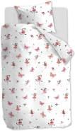 Beddinghouse Bettwäsche Kids Butterfly Girl | Pink - 135 x 200