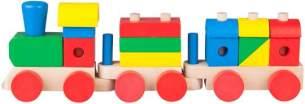 Besttoy - Holz Zug zum Stecken