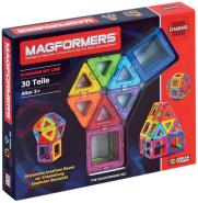 Magformers - Regenbogenset, 30-teilig