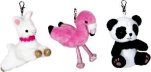 Anhänger Flamingo/Panda/Lama Lustige Tierparade, 1 Stück, sortiert - nicht frei wählbar