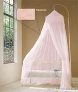 Baldachin für Kinderzimmer in Rosa, Altrosa oder Pink, 60 cm x 240 cm hellrosa