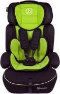 BabyGo 'Freemove' Autokindersitz in Grün, 9 bis 36 kg (Gruppe 1/2/3), umbaubar zur Sitzerhöhung