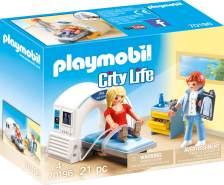 Playmobil City Life 70196 'Beim Facharzt: Radiologe', 21 Teile, ab 4 Jahren