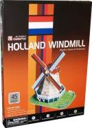 CubicFun 3D Puzzle Holland Windmill by
