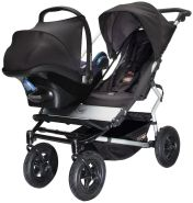 Mountain Buggy - Adapter für Maxi Cosi Pebble & CabrioFix auf Duo / Duet
