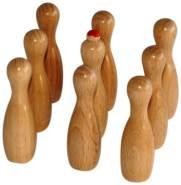 Weiblespiele 10550 - Ersatzkegel für Meraner Tischkegelspiel 10500