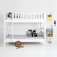 Sanders Bett Etagenbett mit gerader Leiter 90x200 cm