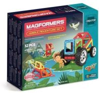 Magformers - Creator Set Line - Jungle Adventure Set
