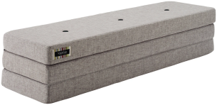 KlipKlap 3 Fold 180 cm Multi Grey