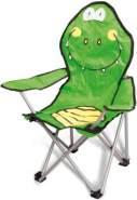 Kinderstuhl - Krokodil - klappbar, grün
