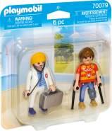 Playmobil 70079 'DuoPack Ärztin und Patient', 6 Teile, ab 4 Jahren