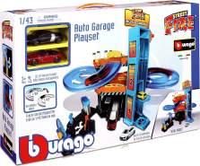 Bburago 15630361 - Playset Autogarage inklusive 2 Autos