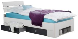 Wimex 'CORO' Funktionsbett 90 x 200 cm weiß