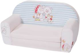 Knorrtoys 'My First Nici' Kindersofa weiß