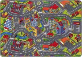 Misento 'Citiy' Straßenteppich 140 x 200 cm Spielteppich