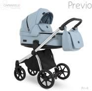 Camarelo 'Previo' Kombikinderwagen 4plusin1 hellblau