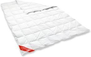 Badenia 03620190140 Daunendecke Trendline Comfort Leicht, 135 x 200 cm,Weiß