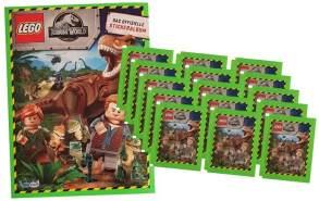 Blue Ocean Jurassic World Lego Sticker (2020) - 1 Album + 15 Tüten - Sammelsticker