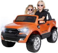 Kinder Elektroauto Ford Ranger Wildtrak 4x4 Kinderauto Elektrofahrzeug Elektro (Orange)