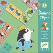Djeco Familien-Spiele DOMINOGISCHE Domino Tiere Mehrfarbig (15)
