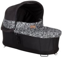 Mountain Buggy - Carrycot Plus - Tragewanne für Urban Jungle 3, Plus One 3 & Terrain 3 - Graphite