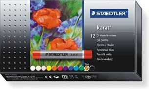 Faber Eberhard - Ölkreide Pastell, 12 Stück im Karton