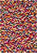 myfelt 'Lotte' Filzkugelteppich 30 x 50 cm