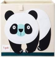 3 Sprouts Aufbewahrungsbox Panda, beige