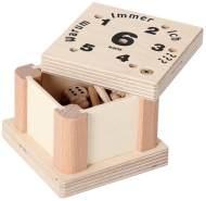 Bartl Würfelspiel 'Warum immer ich?', aus Holz, für die ganze Familie von Klein bis Groß