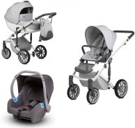 Anex 'm/type' Kombikinderwagent 2020 Fog inkl. Babyschale