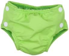 Popolini Badewindel Schwimmwindel GREEN Grün S (small) 3-9 kg