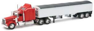New Ray LKW-Anhänger 1/32 Kenworth W900 Körnung Collection 1:39, 810201, rot